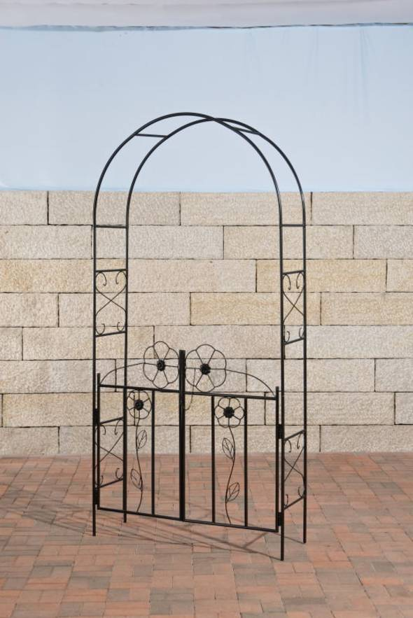 rosenbogen gateway mit tor kletterrosen kaufen. Black Bedroom Furniture Sets. Home Design Ideas